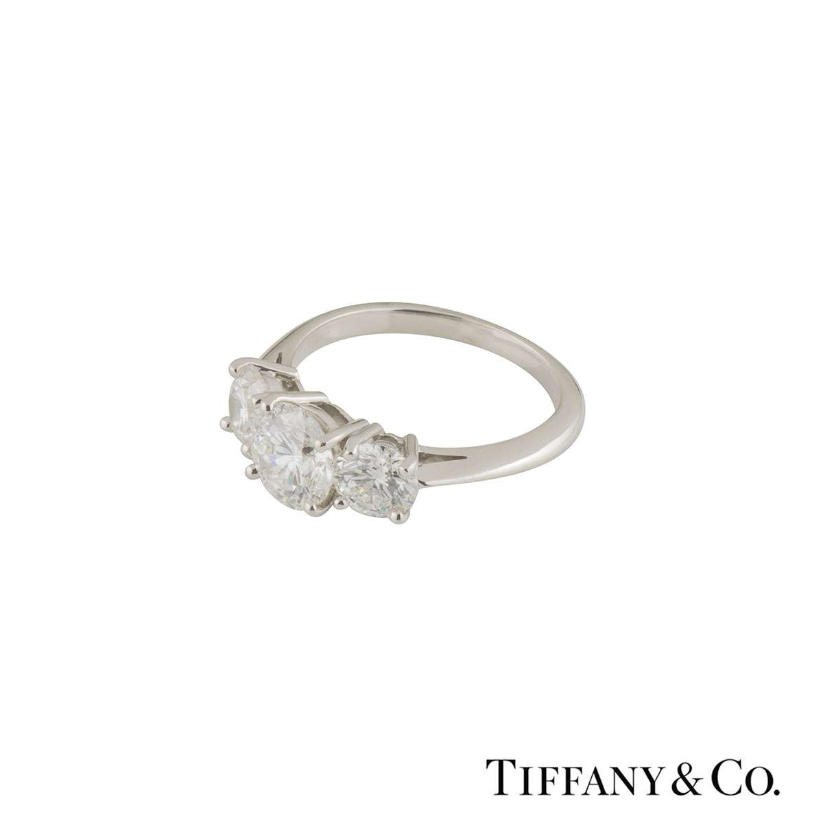 tiffany amp co diamond trilogy ring rich diamonds of bond